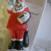 Norman Rockwell, Vintage Santa Claus Christmas Ornament, 1979, in box