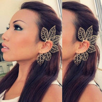 Leaf Ear Cuff
