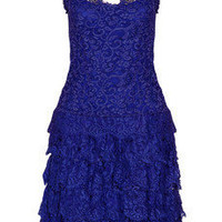 Cynthia Rowley Tiered lace dress - 60% Off Now at THE OUTNET