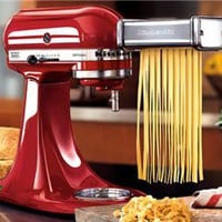 3-pc. Pasta Roller Attachment Set by KitchenAid by KitchenAid at Cooking.com