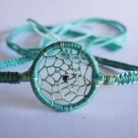 Dream Catcher Winter Mint Friendship Bracelet