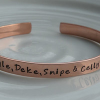 Dangle Deke Snipe Celly Hockey Bracelet