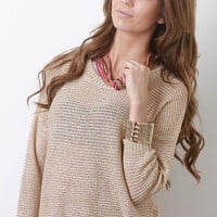 Sparkling Illusion Sweater