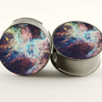 Galaxy City Swirl Plugs by Plug-Club