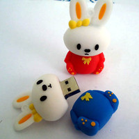Miffy Rabbits Creative Flash Drive