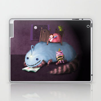 Monster Under the Bed-time Story Laptop & iPad Skin by Dale Keys | Society6