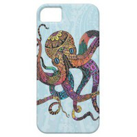 Electric Octopus iPhone 5 Case from Zazzle.com