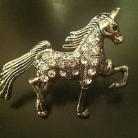 Unicorn Ring Rhinestones