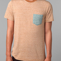 BDG Triblend Blocked Pocket Tee