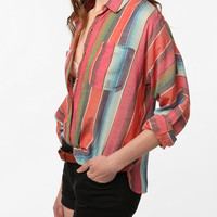 BDG Breezy Striped Dolman Shirt