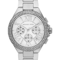 Michael Kors Watch, Women's Chronograph Camille Stainless Steel Bracelet 43mm MK5634 - Women's Watches - Jewelry & Watches - Macy's