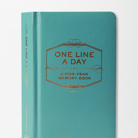 One Line a Day: A Five-Year Memory Book- Assorted One