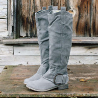 Stomping Ground Boots in Gray, Rugged Boots & Shoes