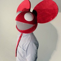 Red deadmau5 head