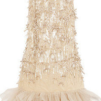 Red Valentino | Embellished tulle dress | NET-A-PORTER.COM
