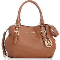 MICHAEL Michael Kors Handbag, Bedford Medium East West Satchel - Handbags & Accessories - Macy's