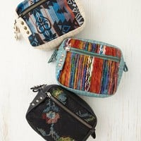 Free People Printed Cosmetic Case