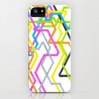 iPhone 5 Case - Neon 90s Metro - unique iPhone case, neon iPhone case, hipster iphone case, iphone 5 case