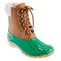 Sperry Top-Sider for J.Crew short Shearwater boots