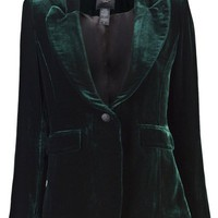 Smythe Velvet Smoking Jacket - Angela's - farfetch.com