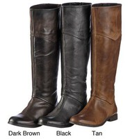 Luichiny Women's 'Point Tee' Tall Riding Boots | Overstock.com