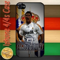 Cristiano Ronaldo CR7 Real Madrid Football Player iPhone 4 or 4S Case