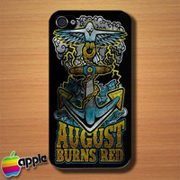 August Burns Red Metalcore Band Logo Custom iPhone 4 or 4S Case Cover