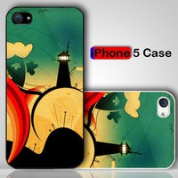 Retro Alice A Trip To Wonderland Custom iPhone 5 Case Cover