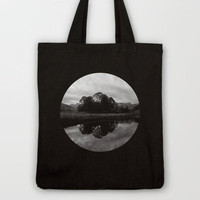 B+W Ellswater  Tote Bag by secretgardenphotography [Nicola] | Society6