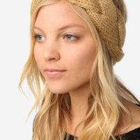 UrbanOutfitters.com &gt; Braided Cable Knit Ear Warmer
