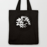 B&W Flower  Tote Bag by secretgardenphotography [Nicola] | Society6