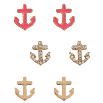 Anchors Earring Set