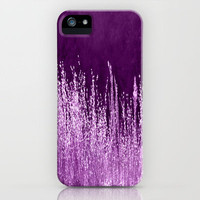 Grasses Pink iPhone Case by Veronica Ventress | Society6