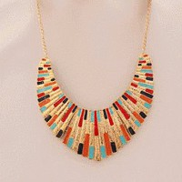 Color Impression Statement Necklace  | LilyFair Jewelry