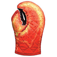 Boston Warehouse: Lobster Claw Mitt Set Of 2, at 25% off!