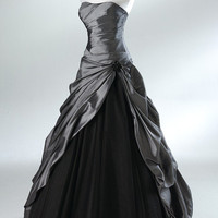 2012 Style A-line Sweetheart Rhinestone Sleeveless Floor-length Tulle Prom Dresses / Evening Dresses