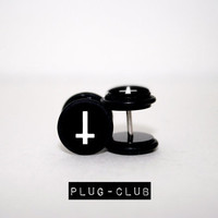 Inverted Cross Fake Plugs by Plug-Club
