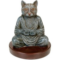 Cat Buddha Statue - Archie McPhee & Co.