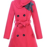 Pea Coat with Ribbon for the Elle Woods of the World in Different Colors! | emily recommends