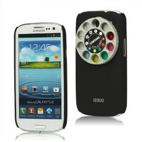 Amazon.com: 4C Funny Lens Filter Turret Kit Hard Case for Samsung Galaxy S3 I9300 - Black: Cell Phones & Accessories
