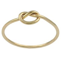 Goldfill Knot Ring