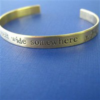 Belle Cuff Bracelet - I want adventure - Spiffing Jewelry