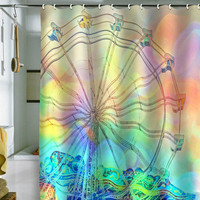DENY Designs Home Accessories | Lisa Argyropoulos The Dream Weaver Shower Curtain