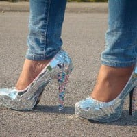 Mirror Mirror On The Shoe by BL Custom Heels