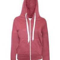 Hooded Zip Pockets Top - by Pilot