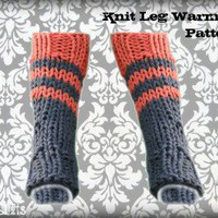KNITTING PATTERN KNEE SOCKS | 1000 Free Patterns