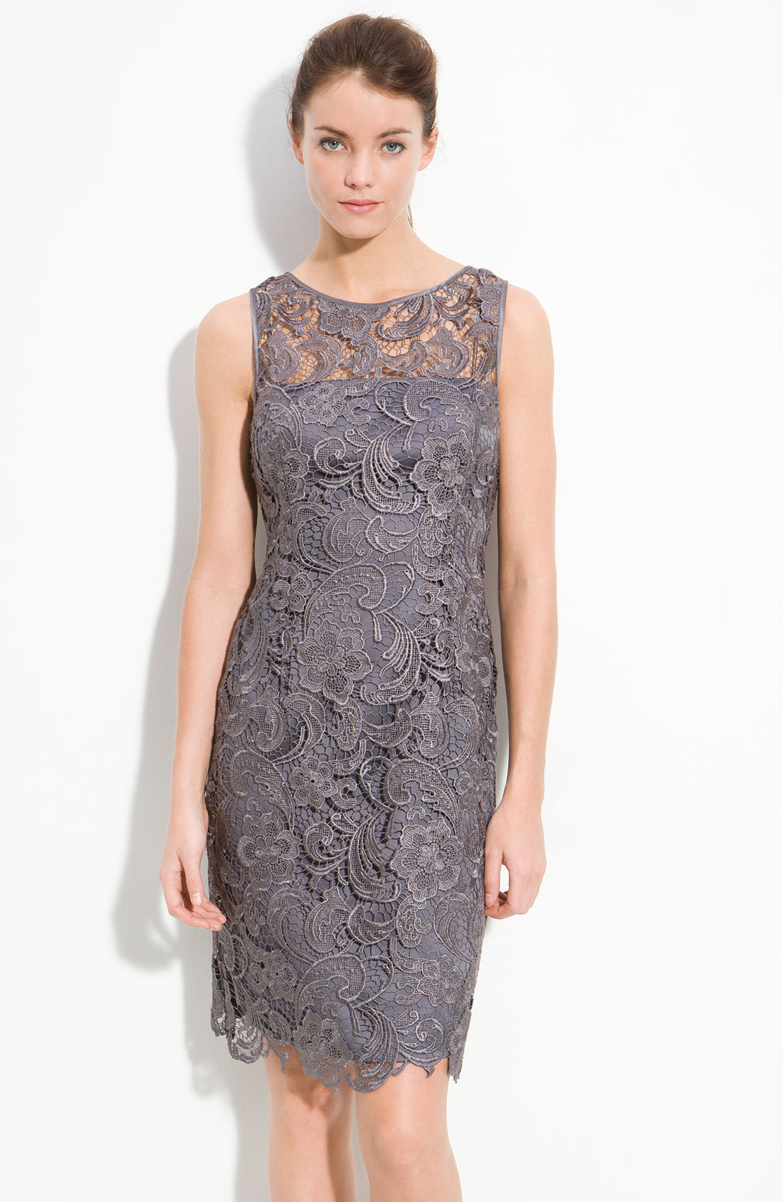 Adrianna Papell Illusion Bodice Lace from Nordstrom