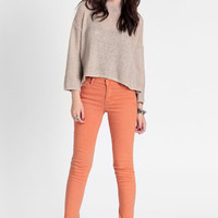 Tight Copper Pants By Cheap Monday - $74.00 : ThreadSence, Women&#x27;s Indie &amp; Bohemian Clothing, Dresses, &amp; Accessories