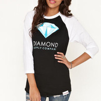 Diamond Supply Co Colors Raglan Tee at PacSun.com