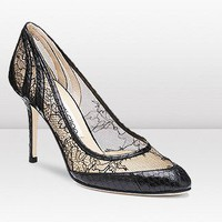 Jimmy Choo Elossy Elaphe Snakeskin Sandals - $185.00